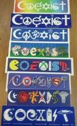 coexist bumper stickers