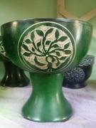 tree stone chalice