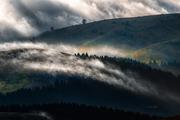 colline di nebbia