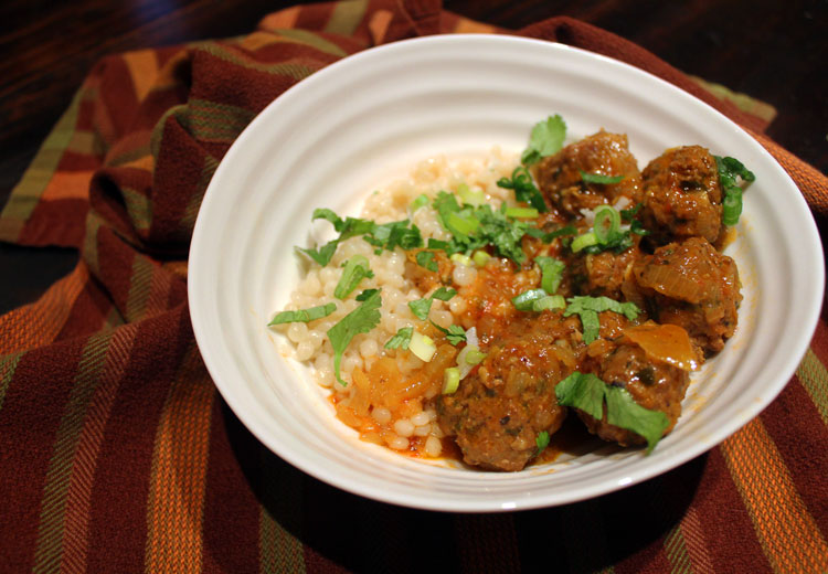 HOME Cooked Winter Recipes: North African–Style Meatballs