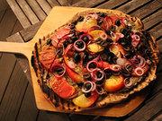 Baba Ghanoush-ish Pizza