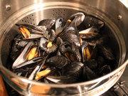 Mussels in Steamer