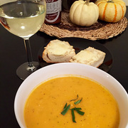 Butternut Squash Soup: The Finished Product