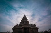 A Scenic beauty of Seashore temple
