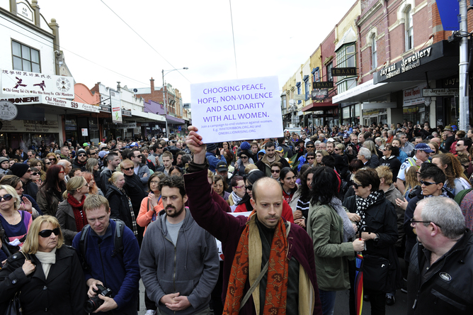 Protest March for Jill Meagher