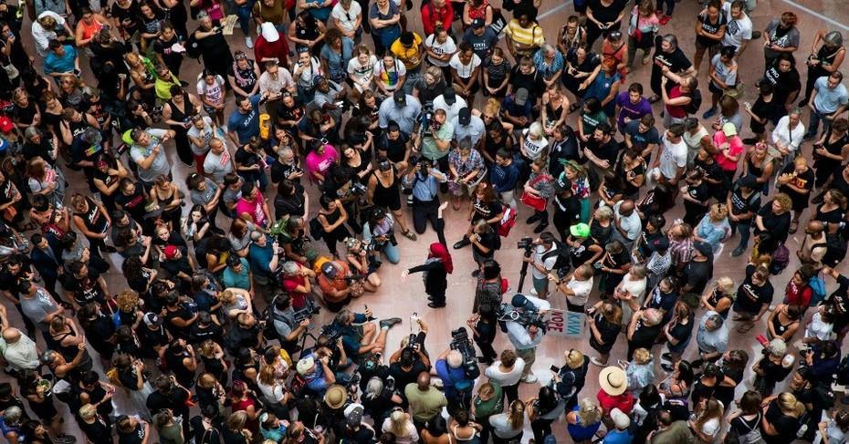 Mass Arrests as Thousands Descend on Senate Office Building Demanding Lawmakers Reject Kavanaugh