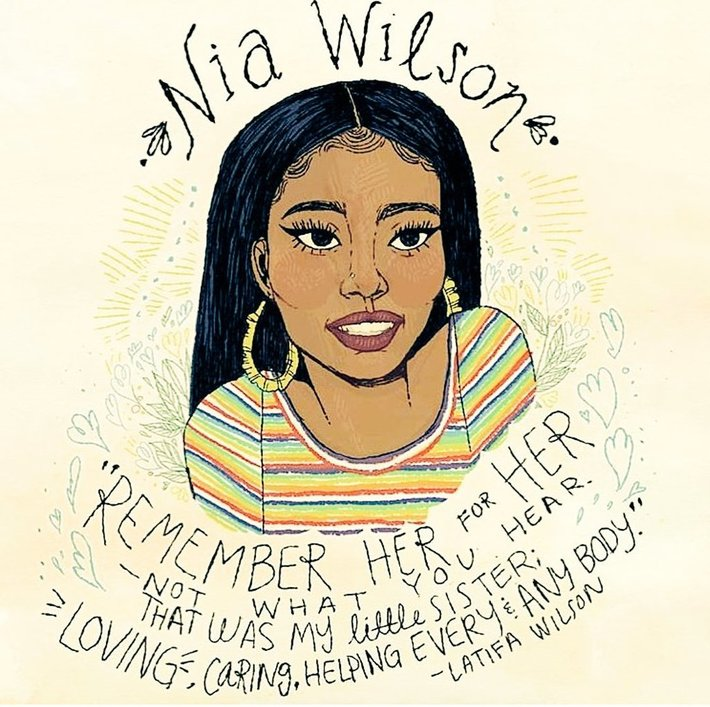 #SayHerName: Advocacy over the murder of Nia Wilson has gone viral