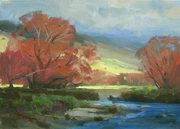 """Cardrona Valley - 8x10"""" SOLD"""