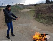Women around the world burn their hijabs in protest
