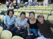 Class of 2010 at Dodger Stadium