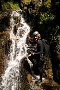 Cameraman canyoneering