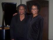 Jazz pianist & composer Geri Allen and me
