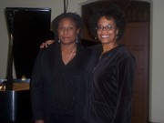 Jazz pianist & composer Geri Allen and me
