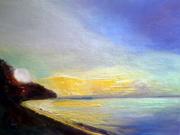 dor's Yellow & Violet Sunset