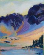 Alta Mountains 8x10in