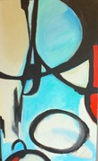Abstract 36x60in