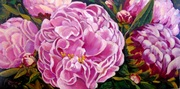 Peonies & Buds by Sharon Repple
