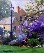 Flower Garden and Violet -   Sold