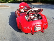 Little Red 1956 Porsche 356 Speedster Tribute