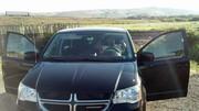 Our awesome rental touring minivan!