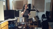 "Recording ""Recycalypso"" CD"