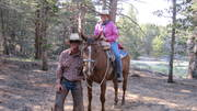 Trailriding in the Easter Sierras