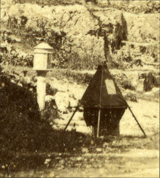 dark tent (detail)