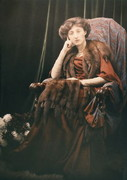 Mary Olive Edis self portrait