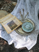 This is the set up for Ambrotype