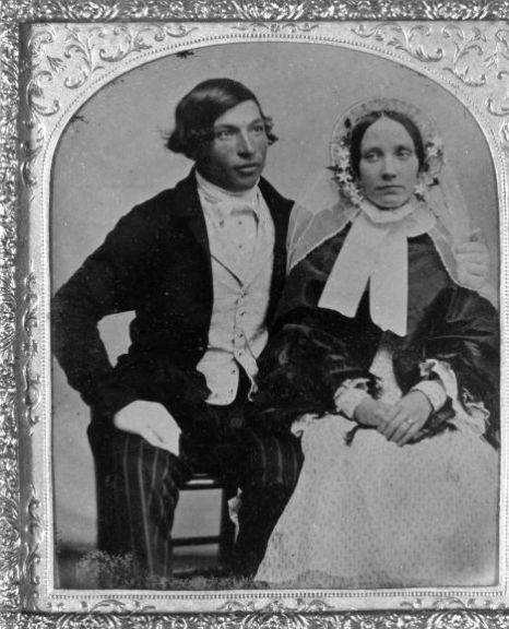 Oldest Wedding Photo (1856)