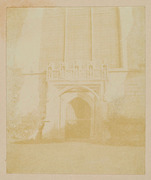 Magdalene College Door by Fox Talbot