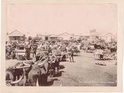 Workmen at De Beers Compound, Kimberley