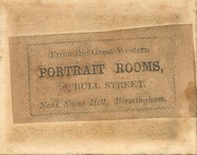 Great Western Portrait Rooms neas Snow Hill, Birmingham