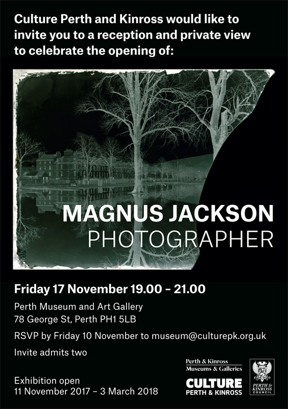 Magnus Jackson Photographer exhibition launch