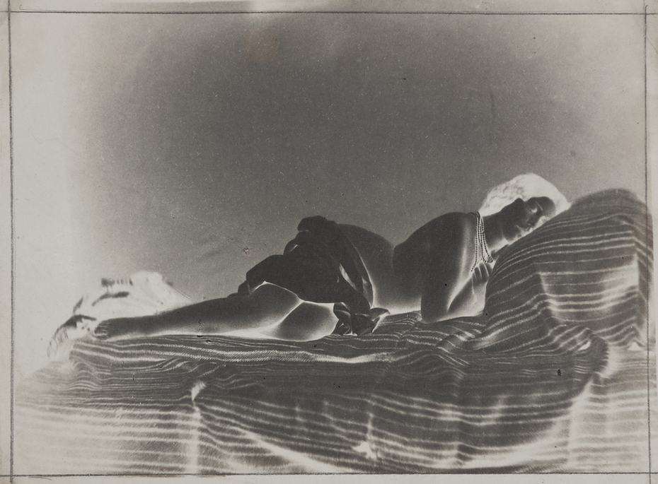 Julien Vallou de Villeneuve: Reclining Female Nude (Front View).
