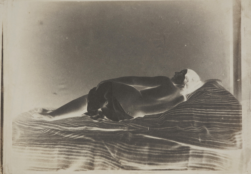 Julien Vallou de Villeneuve: Reclining Female Nude (Back View).