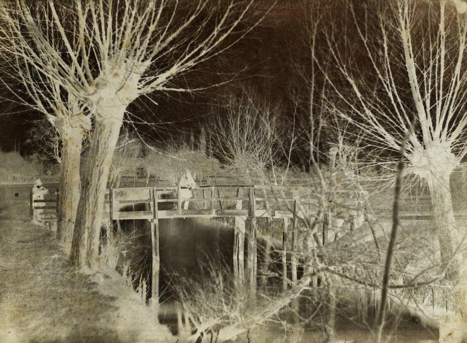 George Hilditch: Bridge, Men and Trees.