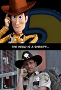 """Proof That """"The Walking Dead"""" And """"Toy Story"""" Have The Exact Same Plot"""