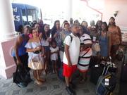 Leaving the Radisson Resort at the Port