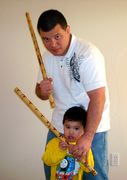 Me And My Son The Arnis Master!