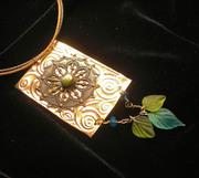 Copper & Brass Medallion Necklace