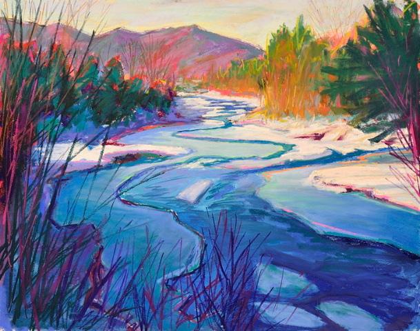 Harris Hot Winter Landscape