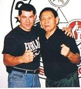 Grand Master Vince Palumbo and Supreme Grandmaster Cacoy Canete