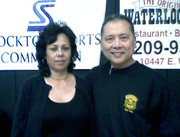 Prof. Cathy Landers & GM Tony Somera @ the Legacy