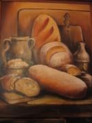 Martwa natura z chlebem