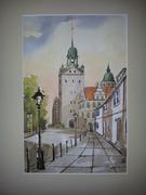 Zamek Książąt Pomorskich w Szczecinie.Widok od strony ul.Kuśnierskiej