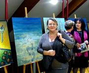 """Maria Maryla Wierzbowska BSCK Busko Zdrój Galeria Antresola XXIX Przegląd Plastyki """"Ponidzie 2014"""""""