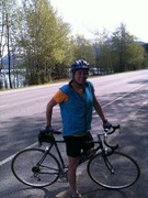 Biking the Seward HWY