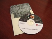 CD con sobre estampado adentro