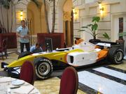 Lobby Boscolo Hotel New York Palace in Budapest Renault formula 1